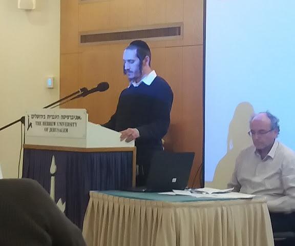 """משה צ'יציק זוכה פרס """"ש פרופ' יעקב נחום וצפורה אפשטיין ז""""ל"""